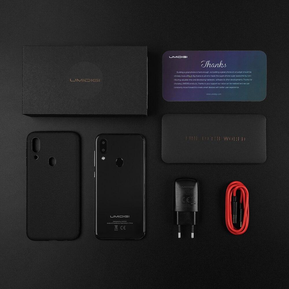 UMIDIGI A3 Pro Android 9,0 глобальные диапазоны 5,7 19:9 полноэкранный смартфон, 3 Гб оперативной памяти, Оперативная память MT6739 Quad core 12MP + 5MP Dual core 4G 3 слота 3300 МА ч - 6