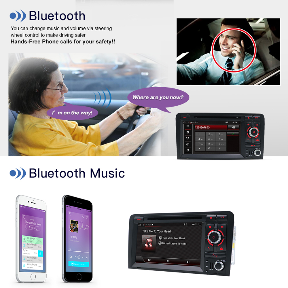 dvd Bluetooth din For