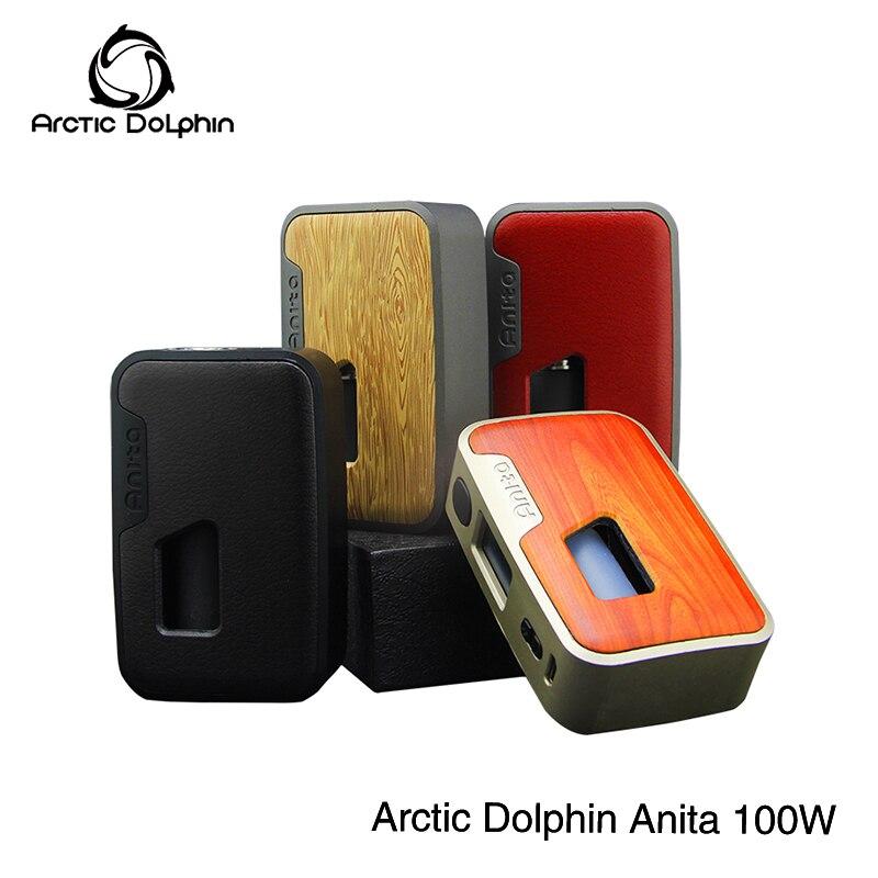 1 st Nieuwe product originele Arctic dolphin Anita 100 w Squonk BF mod Squonker Fles 5 100 w OLED screen TC E Sigaret Vape Doos Mod-in Mods voor e-sigaretten van Consumentenelektronica op  Groep 1