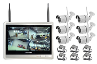 Wireless Security Camera System 8CH CCTV NVR Kit 960P 6pcs Outdoor Bullet IP Camera HDMI 12