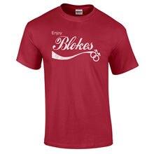 Funny Enjoy Blokes Gay Homosexual Pride Quality Equality Retro T Shirt S-5XL New Shirts Tops Tee Unisex