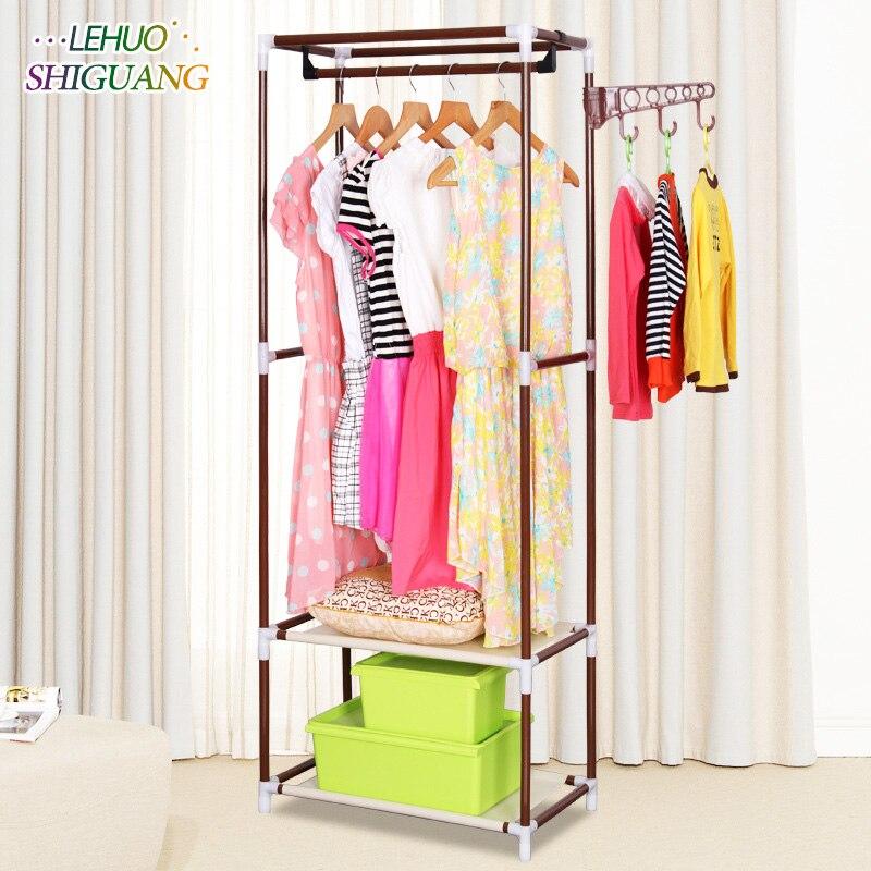 Простой вешалка многоцелевой пол вешалки для спальни творческий стильный интерьер вешалки занимают небольшое пространство мебель