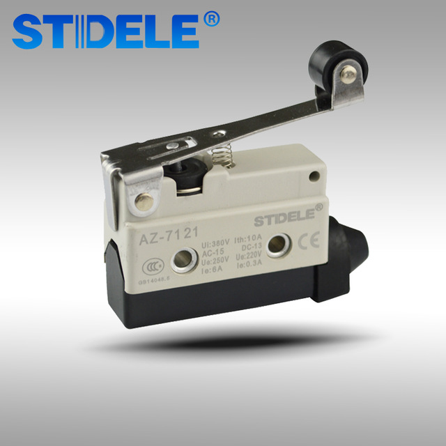 Концевой выключатель микропереключатель 10A n/o n/c ролик рычаг Высокое качество Прямая продажа с фабрики AZ-7121