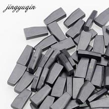 Jingyuqin 10 pçs/lote chave do carro transponder em branco pcf7936as pcf7936 id46 transponder tango chip para honda nissan peugeot citroen