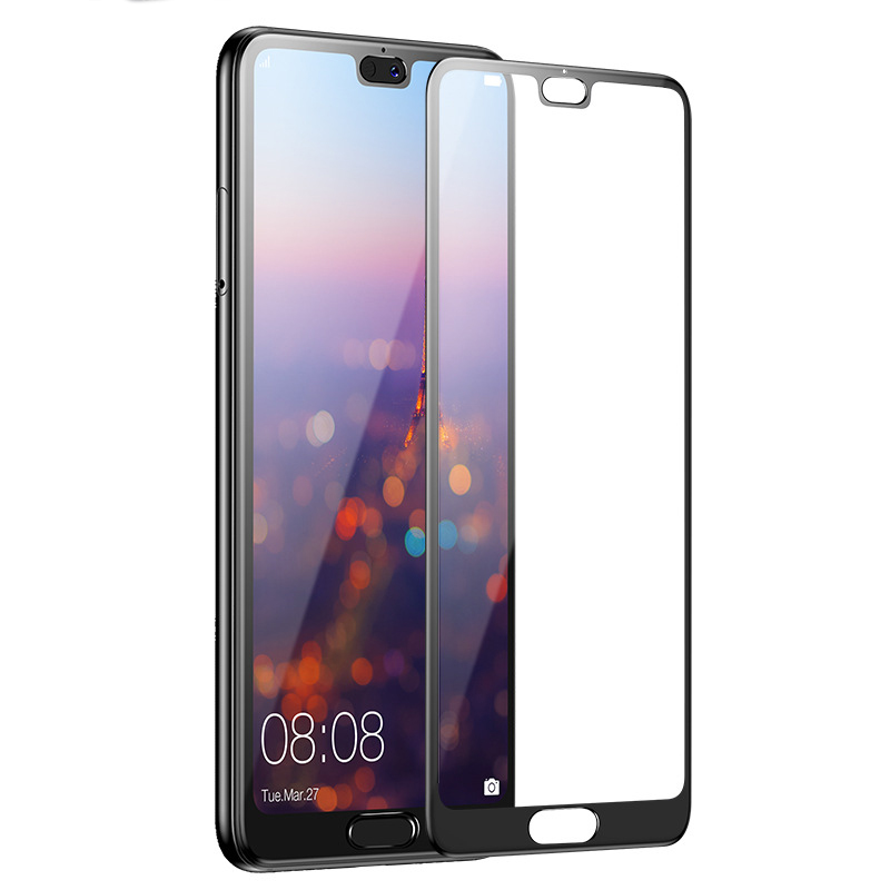 Image 4 - GVU 8D Full Cover Tempered Glass For Huawei P20 Lite P20 Pro Screen Protector For Huawei P20 Lite Nova 3E Protective Glass Film-in Phone Screen Protectors from Cellphones & Telecommunications