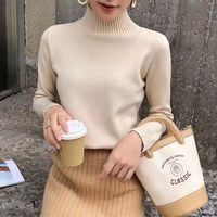 Alice & Elmer Sweater O Neck female women sweaters and pullovers fashion spring Autumn winter Lady