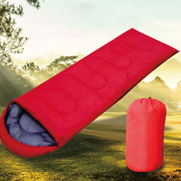 Camping Sleeping Bag High Quality 15~5 degree Envelope Style Lazy Bag Sleeping Bags