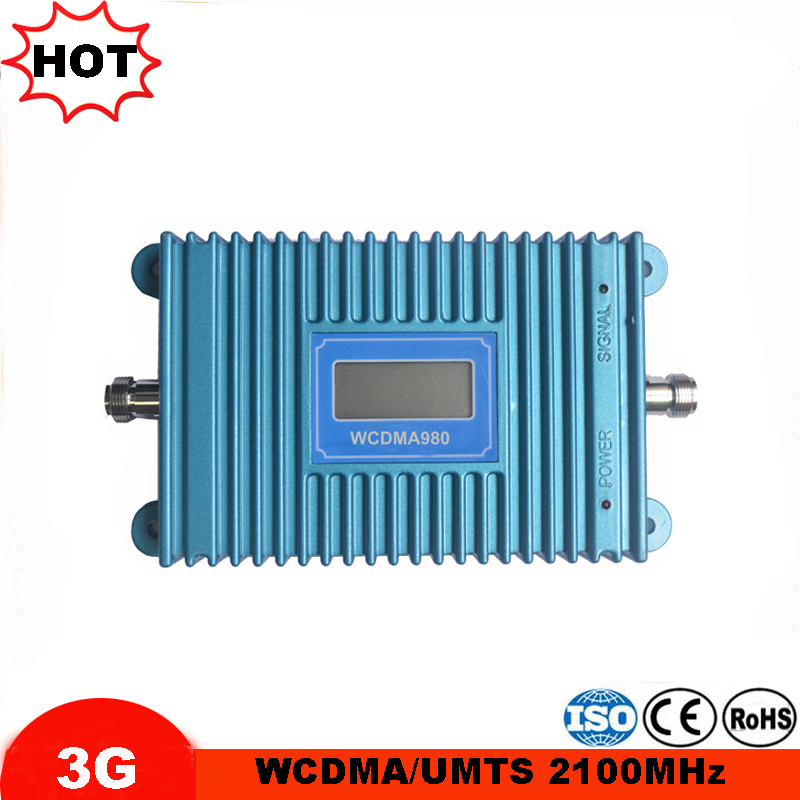 W-CDMA 2100MHz 3G Repeater Mobile Phone 3G Cellular Signal Booster UMTS WCDMA Signal Repeater Amplifier