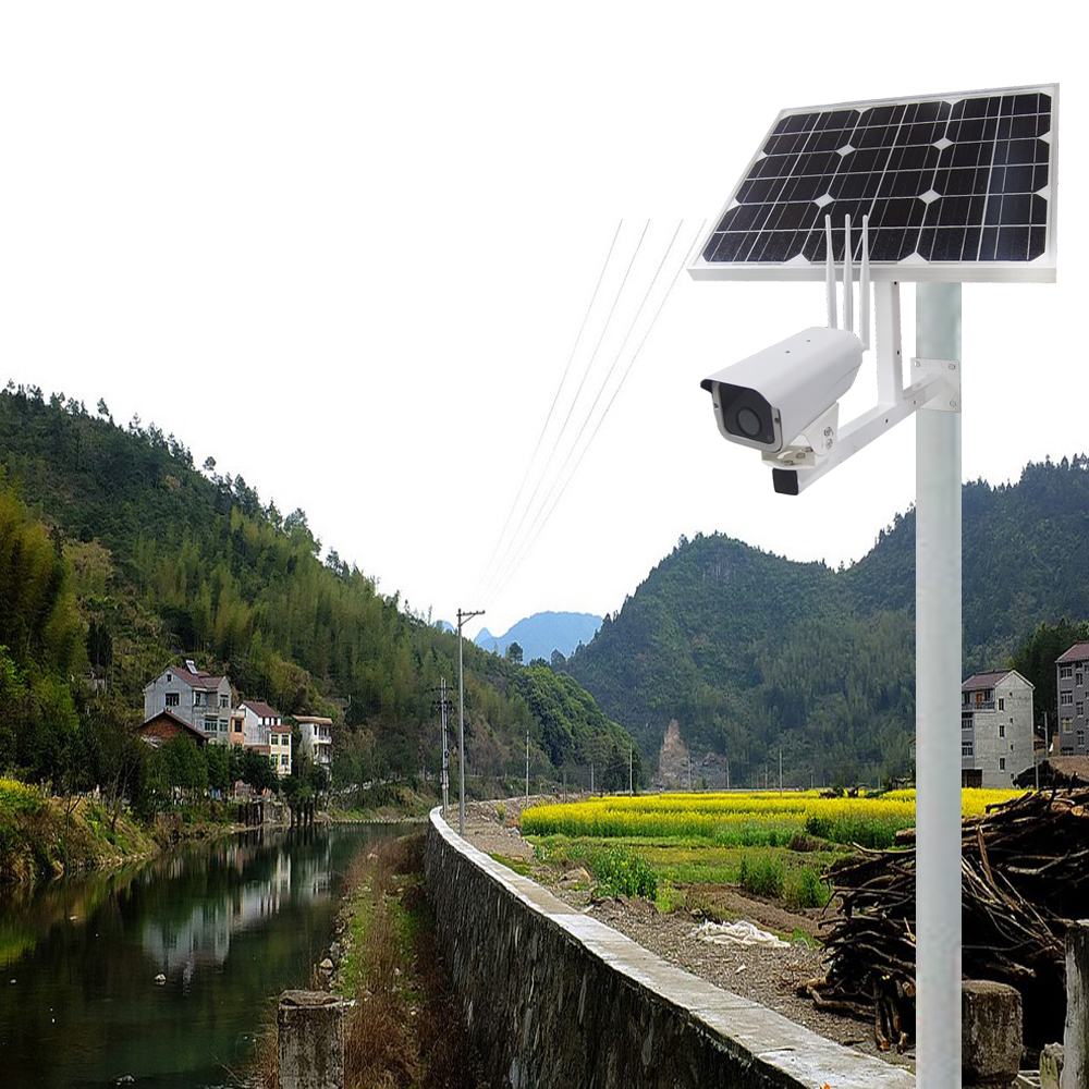 Image 5 - 30W Solar Power Panel Battery Security 1080P CCTV Surveillance Outdoor IP Camera Onvif Wireless Wi fi 3G4G SIM Free 16GB SD Card-in Surveillance Cameras from Security & Protection