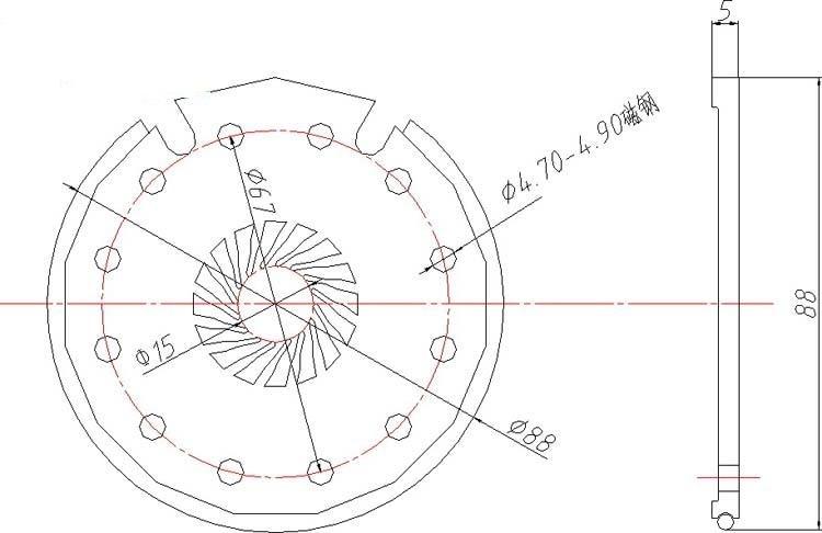 Ebike Controller 36v 48v 500w Controller Electric Bike Torque Sensor