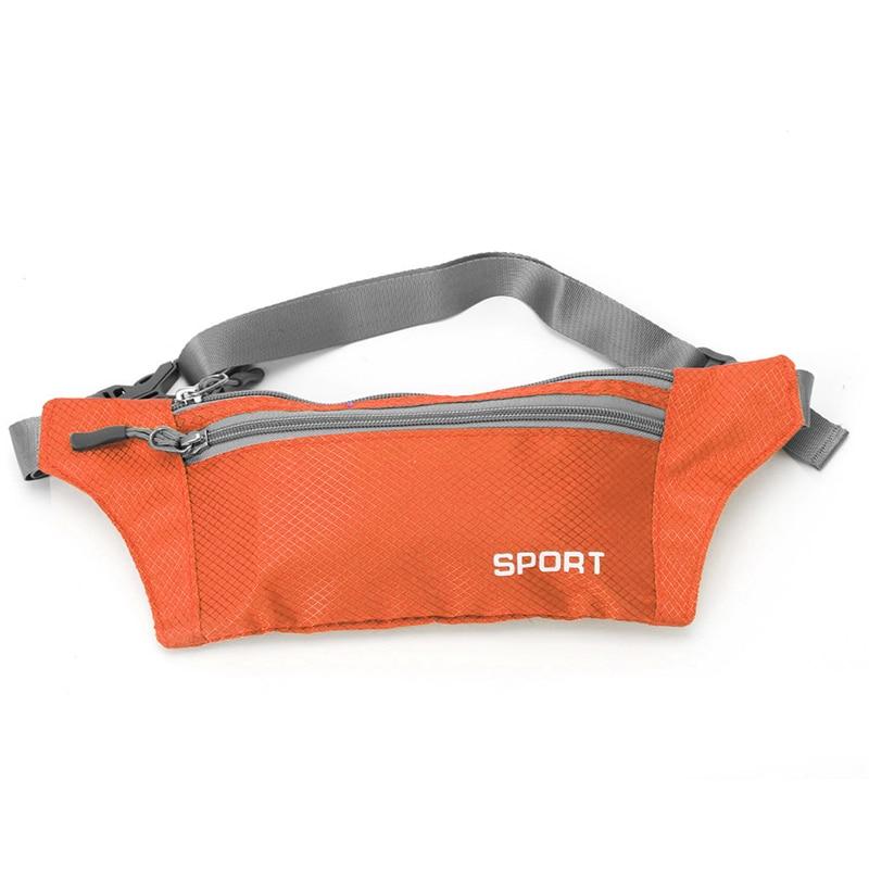 Casual Men Women Waist Belt Zipper Pouch Unisex Multi-functional Pockets Bum Bag Handy Pack New 1Pc Solid Pillow Polyester 2018 zipper pillow 1pc