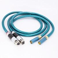 1 pair Ortofon Hifi XLR Female to RCA Male Cable High Purity OCC Hifi 2 Rca to 2 Xlr Cable