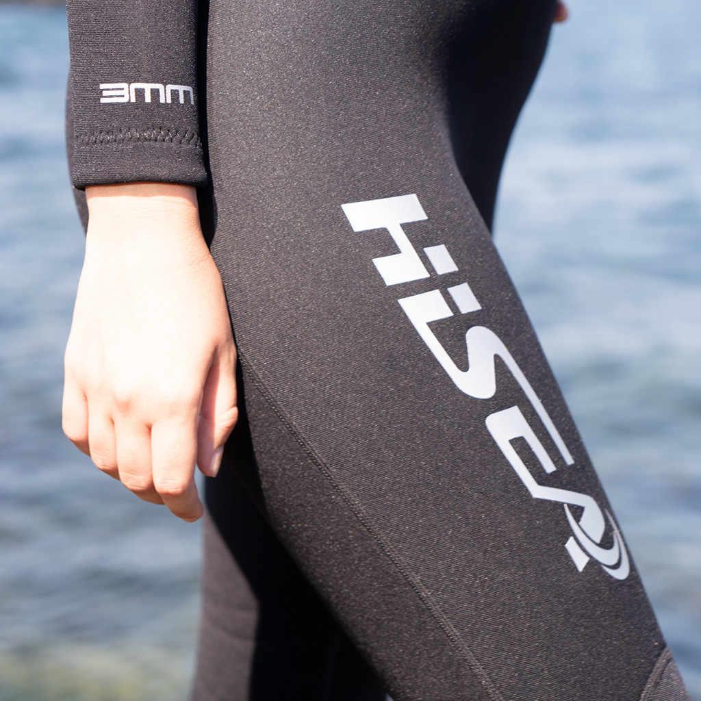 Womail kadın 3mm dalgıç kıyafeti Siyam sörf giyim güneş koruyucu dalış takım elbise çabuk kuruyan uzun kollu güneş koruyucu sörf giyim