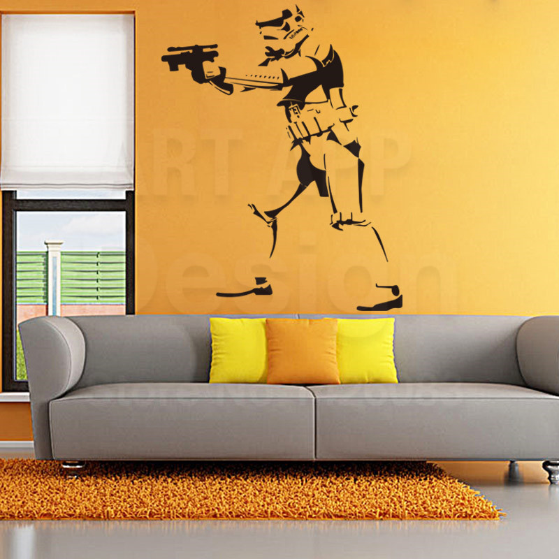 Imperial Home Decor: Art Star Wars Design Vinyl Imperial Home Decor