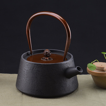 tranquil teapot cast iron kettle uncoated teapots boiled boiled tea pig iron pot water county japanese iron pots 1000ml
