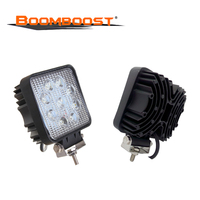 2PCS 27W LED Work Light Spot Beam 12V 24V Square Off Road Car Light Working Tractor Truck Trailer Metal Waterproof