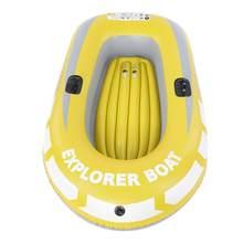 1 / 2 pessoa Caiaque Inflável Canoa Carga 90 55kg kg de Remo Barco Dupla Válvula De Ar Inflável de Mergulho À Deriva barco Barco De Pesca