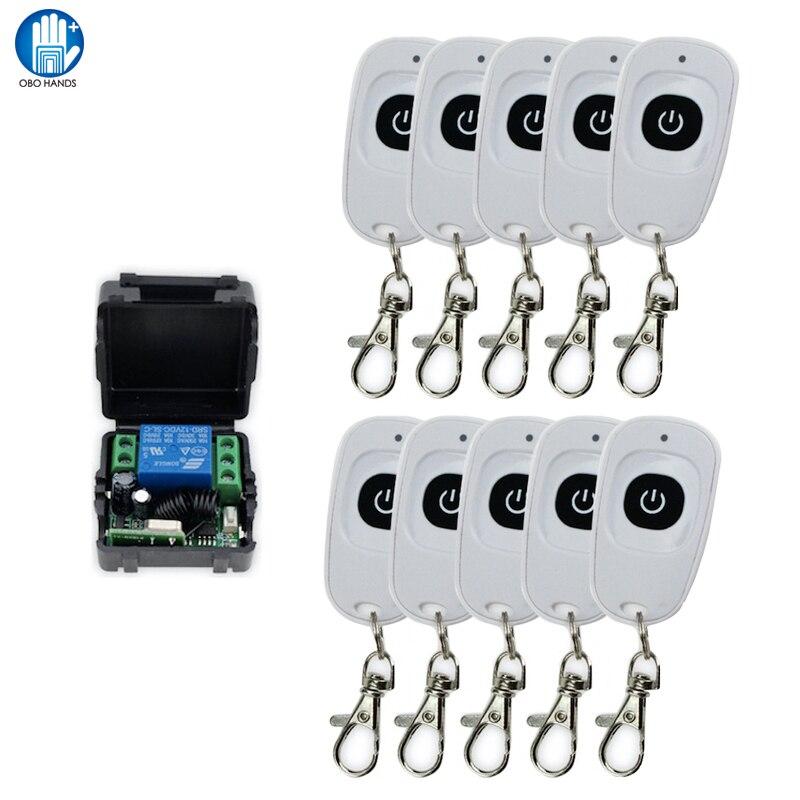 433 HZ Signal Door Remote Control Of  Wireless Remote Switch remote control +Receiver Module +Box of Access Control tp760 765 hz d7 0 1221a