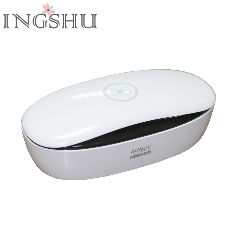 INGSHU SUNUV S1 Sterilizer Box 10 Leds Nail Art Tools Storage Box Portable Disinfection Box for Salon/Home use Sterilization