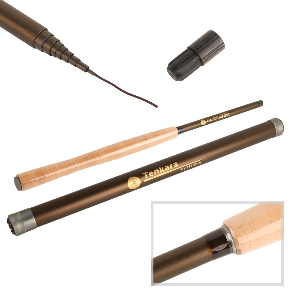Maximumcatch Fly Rod 13FT 7:3 Action 9 Segments Super Light Traditional Fly Fishing Rod maximumcatch 13ft tenkara fly fishing rod 7 3 action 9 segments super light traditional tenkara fly rod