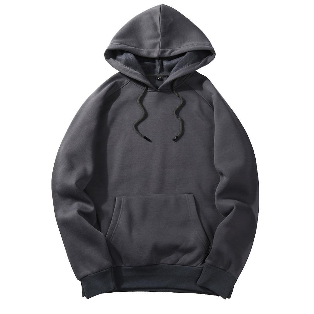 FGKKS New Autumn Fashion Hoodies Male Warm Fleece Coat Hooded Men Brand Hoodies Sweatshirts EU Size 22