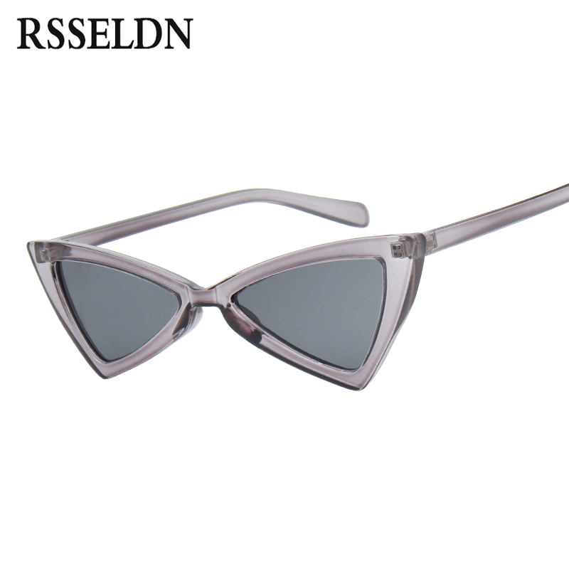 RSSELDN Sexy Butterfly Cat Eye Sunglasses Women Luxury Brand 2018 Fashion Sun Glasses Female Red Black Vintage Sunglass UV400
