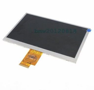 LCD Display 7 inch Freelander PX1 3G TABLET TFT 1024*600 LCD Display Screen Panel Digital Viewing Frame Free Shipping original 7 inch lcd display kr070lf7t for tablet pc display lcd screen 1024 600 40pin free shipping 165 100mm