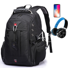 2019 New Multifunction USB Charging Mens Backpack Large Capacity Travel Backpack Male Backpack Mochilas