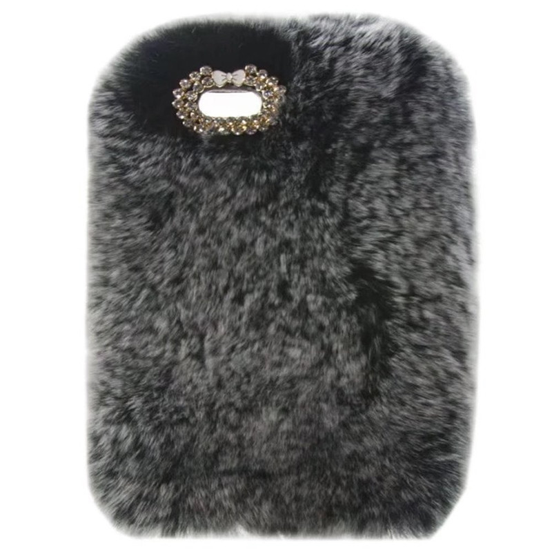 1Pcs Fashion Deluxe Fluffy Winter Warm Furry Fluffy Rabbit Fur Tablet Case For Lenovo Tab 4 10 Plus TB-X704 TB-X704F TB-X704N