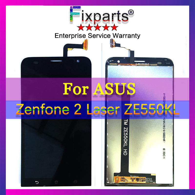 <font><b>LCD</b></font> Display For Asus ZenFone 2 Laser <font><b>ZE550KL</b></font> <font><b>LCD</b></font> with Touch Screen Digitizer Assembly 5.5'' Z00LD <font><b>ZE550KL</b></font> Touch Screen Black image