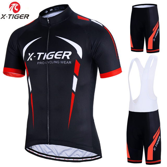X-Tiger 2018 Pro Cycling Set MTB Bicycle Wear Maillot Ropa Ciclismo 3  Colors Bike Uniform Cycling Jersey Set Cycling Clothing 64f5775f7