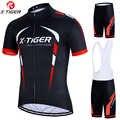 X-Tigre pro Ciclismo conjunto MTB bicicleta vestir maillot Ropa Ciclismo 3 colores uniforme de bicicleta Ciclismo Jersey de Ciclismo Ropa
