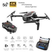 SG906 5G dron GPS z Wifi FPV 1080P 4K HD kamera bezszczotkowy Quadcopter 23 minut czasu lotu gest składany dron do selfies postawy polityczne w F11 tanie tanio JJRC Z tworzywa sztucznego 30 days 4 x 1 5V AA battery 28 3 x 25 3 x 7cm ( unfolded Silnik bezszczotkowy Pilot zdalnego sterowania