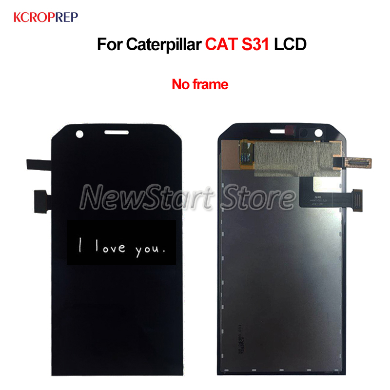 For Caterpillar CAT S31 LCD Display Touch Screen Digitizer Assembly No Frame 4.7 For CAT S31 lcd Replacement AccessoryFor Caterpillar CAT S31 LCD Display Touch Screen Digitizer Assembly No Frame 4.7 For CAT S31 lcd Replacement Accessory