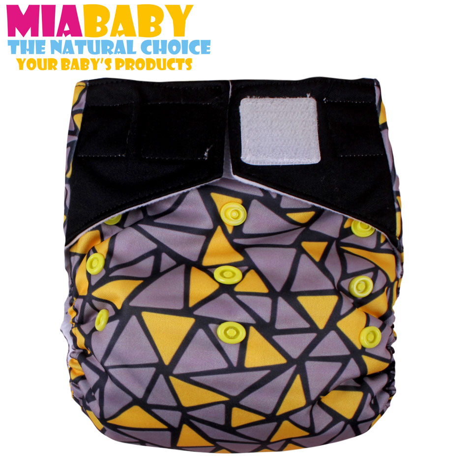 Miababy OS night AIO or AI2 cloth diaper for baby boy and baby gril, with two inserts