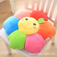 45cm The sun flower PP cotton cushion plush toys gift girl office sofa pillow cushion