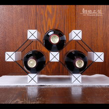 Wine wine frame wood white wine rack wooden wine frame Mo promotion can be customized