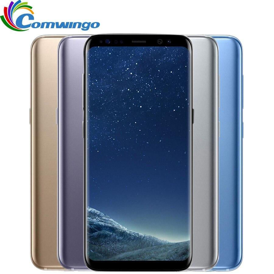 Original Unlocked Samsung Galaxy S8 Plus 4G RAM 64G ROM 6.2 Octa core Dual Sim 4G LTE Mobile Phone Fingerprint Smartphone s8+