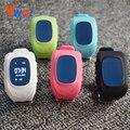 Черный/Белый Оригинальный Q50 GPS Умные Дети Безопасный smart Watch Наручные Часы SOS Вызова Расположение Finder Locator Tracker Anti Потерянный Монитор