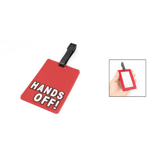 secure travel suitcase id luggage tag put it back it s mine black 5pcs( Red Secure Travel SuitCase Luggage Name ID Holder Label Tag