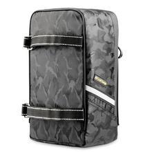 Waterproof Bike Bag Portable Bicycle Rear Rack Bag Seat Trunk Backpack Case Luggage Pannier MTB Road Cycling Bag Accessories цена