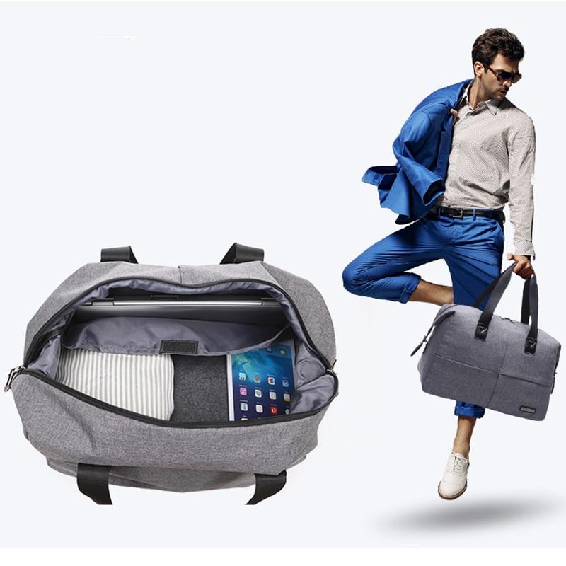 Мода Водонепроникний Чоловіки сумки подорожі великої ємності портативний багажу плеча сумки Організатор сумка жінок