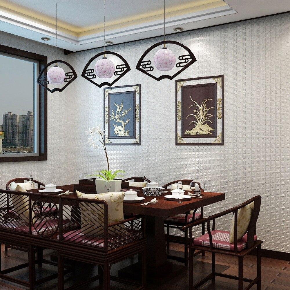 Купить с кэшбэком PAYSOTA Modern Wallpaper Chinese Classical Living Room Wall Paper Roll