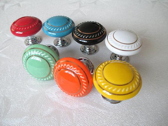 Beautiful Orange Cabinet Knobs Photos - The Best Bathroom Ideas ...