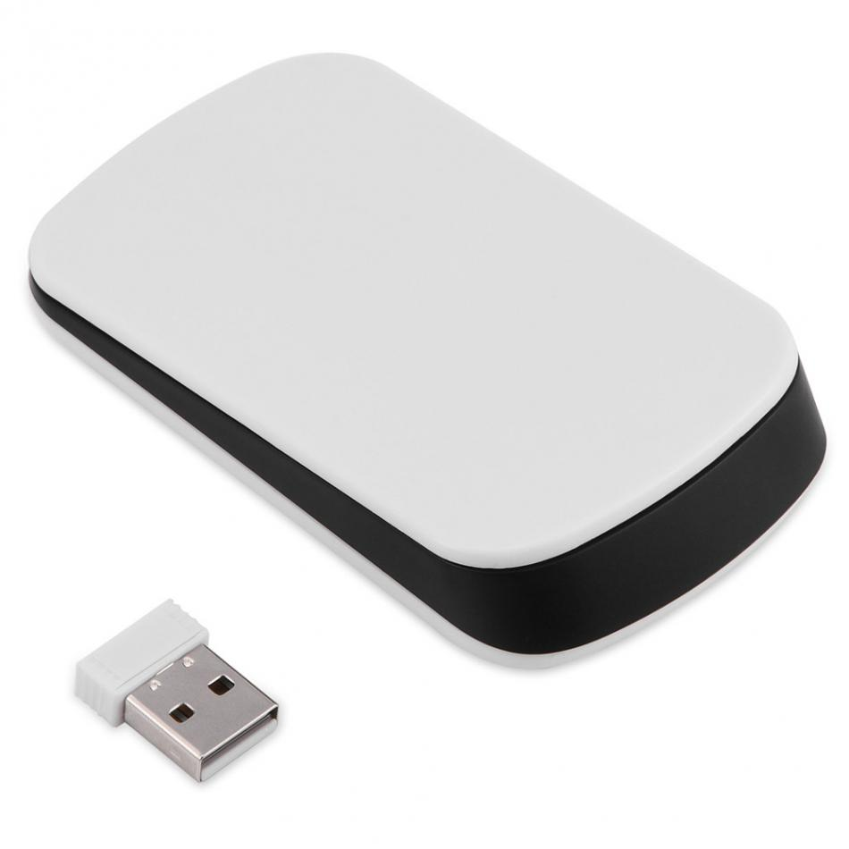 2.4GHz Wireless Optical Touch Mouse Mice USB Receiver for PC Laptop Computer