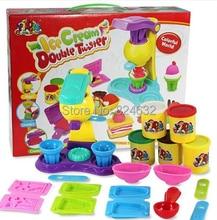 3D handgum играть тесто пластилин и мороженое plastilina набор инструментов fimo полимерная глина massinha де modelar развивающие игрушки