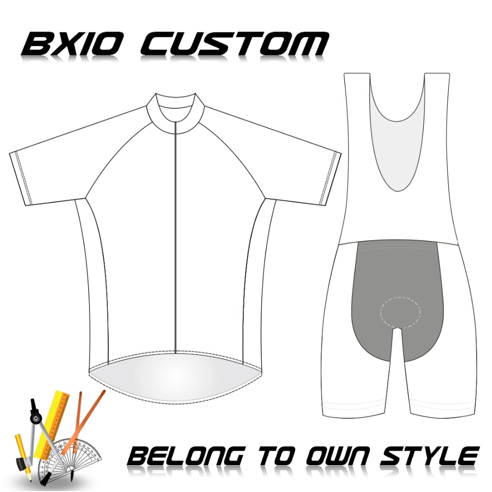 BXIO Brand Custom Cycling Sets Blank Bike Wear Pro Team Cycling Kits OEM Design Bicycle Clothing DIY Ropa Ciclismo BX-CUSTOM-1