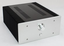 WA75 Aluminum enclosure Preamp chassis Power amplifier case/box size 312*262*120mm