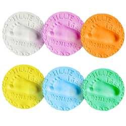1 шт., Детский комплект с принтом в виде отпечатка пальца для рук, комплект для литья, Детская воздушная сушка, мягкая глина для родителей и