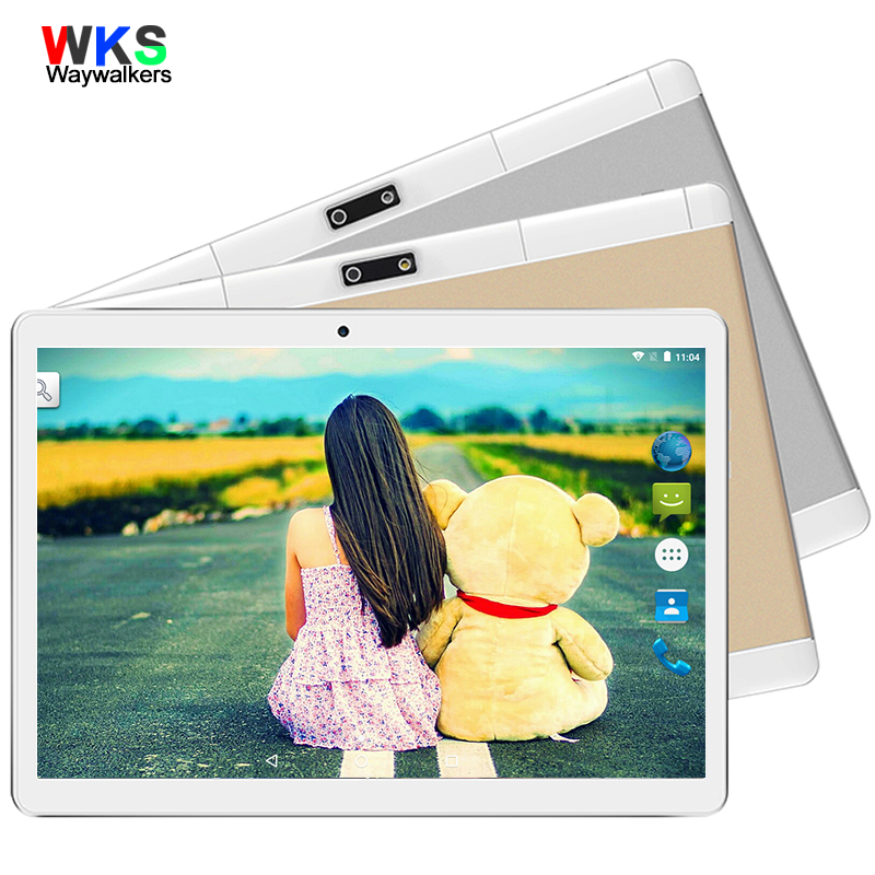 2018 New Free 9.6 inch Tablet PC Octa Core 4GB RAM 16GB ROM Dual SIM Cards 3G WCDMA Android 4.0 GPS Tablet PC 10 10.1 phablet ubtel u8 mtk6592 octa core android 4 2 2 wcdma phone w 5 0 ips 13 0mp otg hml 16gb rom black
